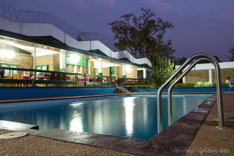 Ghana Pictures, Mole Hotel