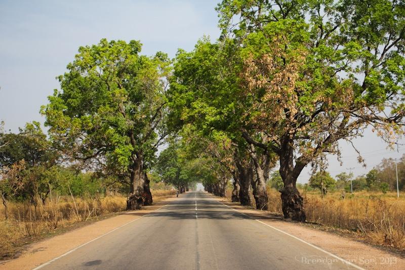 Ghana Pictures, Kumasi Highway