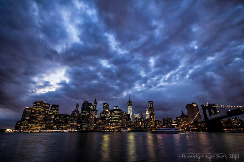 Best Travel Photos 2013, Manhattan Skyline