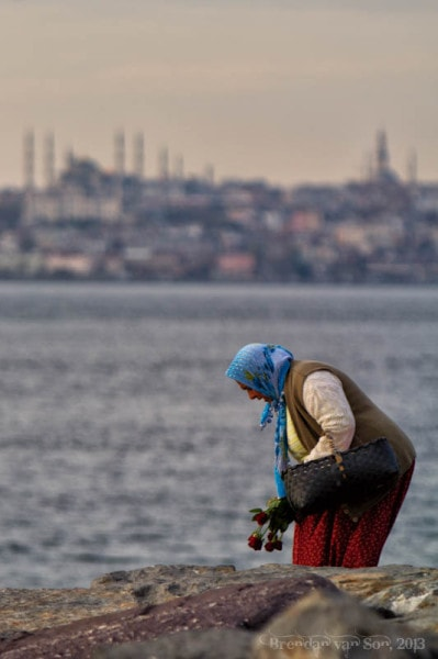 woman Istanbul
