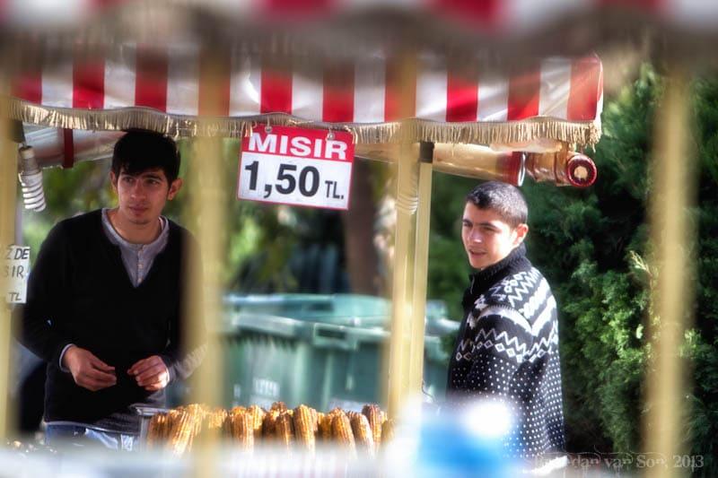 corn vendor Istanbul