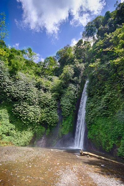 Munduk Falls, North Bali