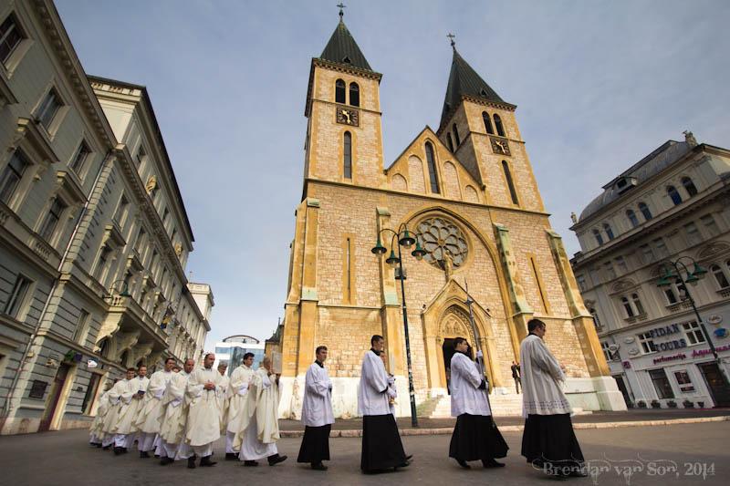 Catholic Cathedral Sarajevo