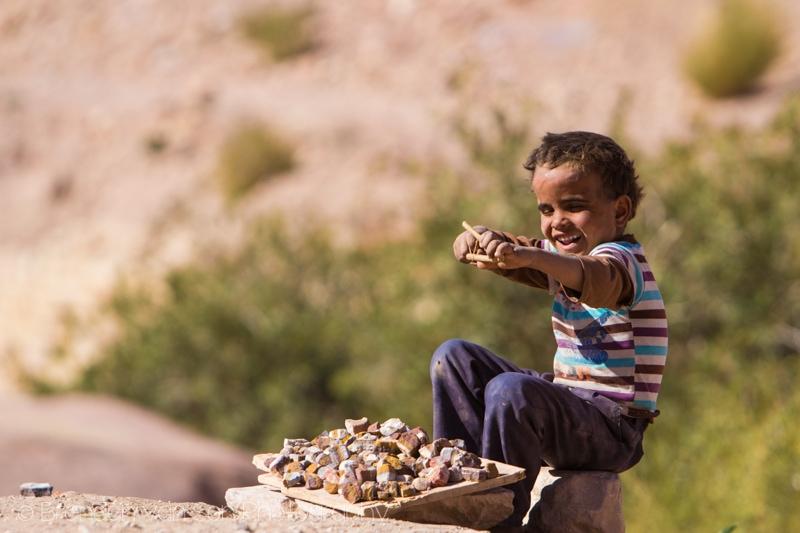 Bedouin kid, Petra