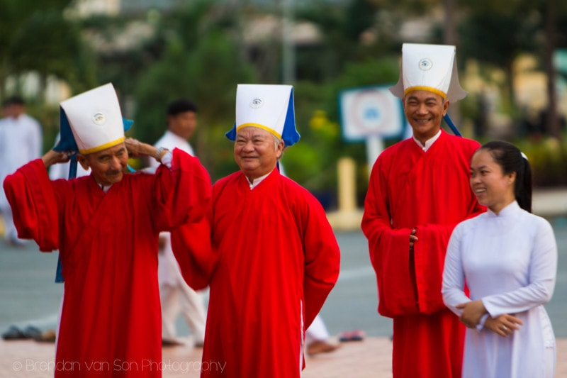 Cao Dai Monks