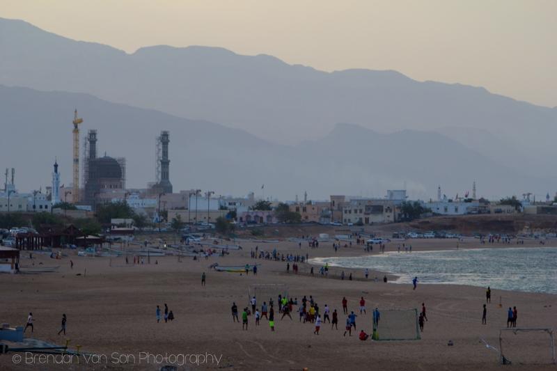 Sur, Oman skyline