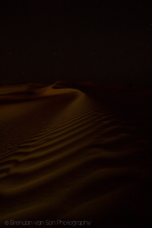 Wahiba Sands at Night