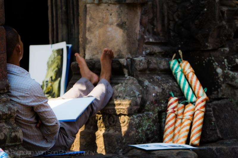 Artist, Angkor Wat