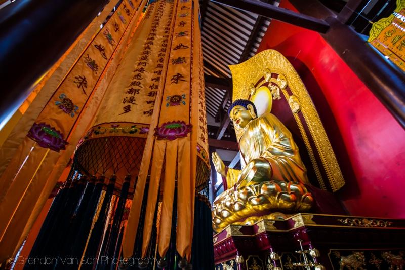 Buddhist temple Changsha China