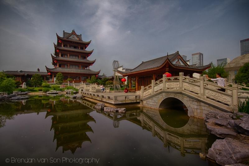 Cultural Center Orange Island Park Changsha China