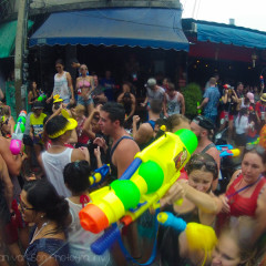 Thailand's Water Fight Festival: Songkran in Chiang Mai