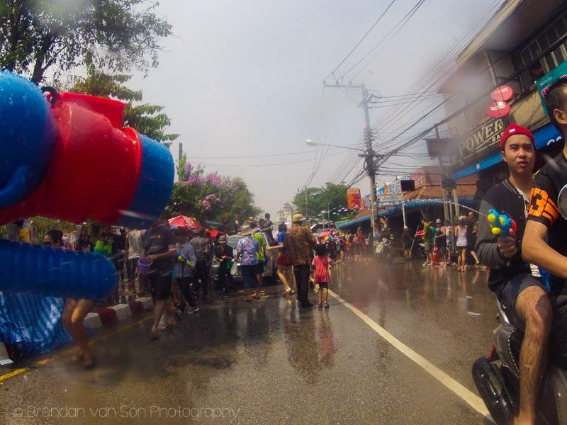 Songkran Chiang Mai Thailand