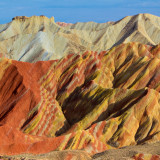 "The Zhangye Danxia ""Rainbow"" Mountains of China"