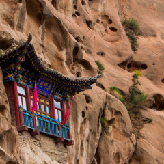 Mati Si, China: Temples in the Cliffs