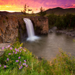 Editing Orkhon Falls: Using Photoshop to Blend Multiple Exposures