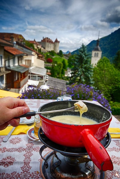 Fondue and View! Shot at 18mm: f/7.1, 1/400sec., ISO100