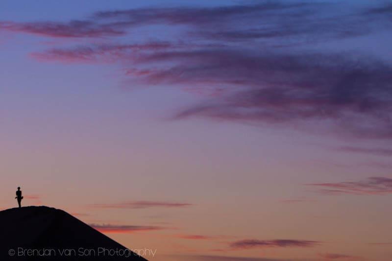 Silhouette Gobi Mongolia