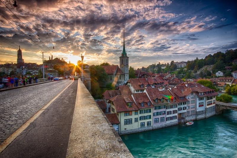 Bern, Switzerland, Photography, HDR