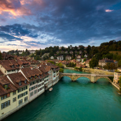 Getting the Shot in Bern, Switzerland