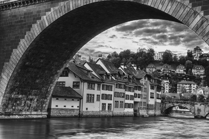 Bern, Switzerland, Photography, Black and White