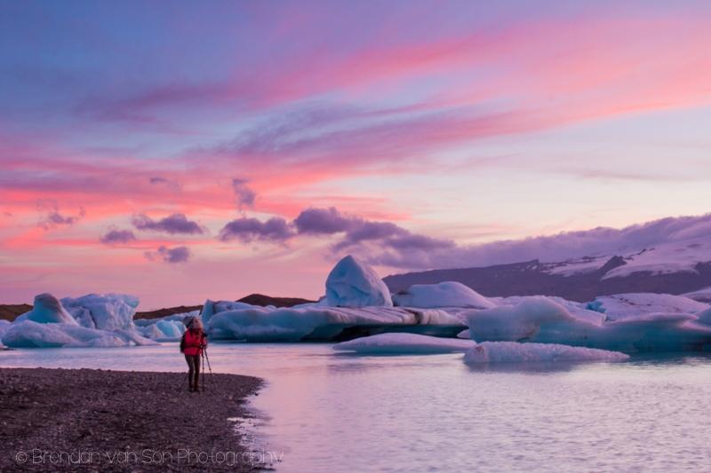 The iceberg lagoon, Iceland