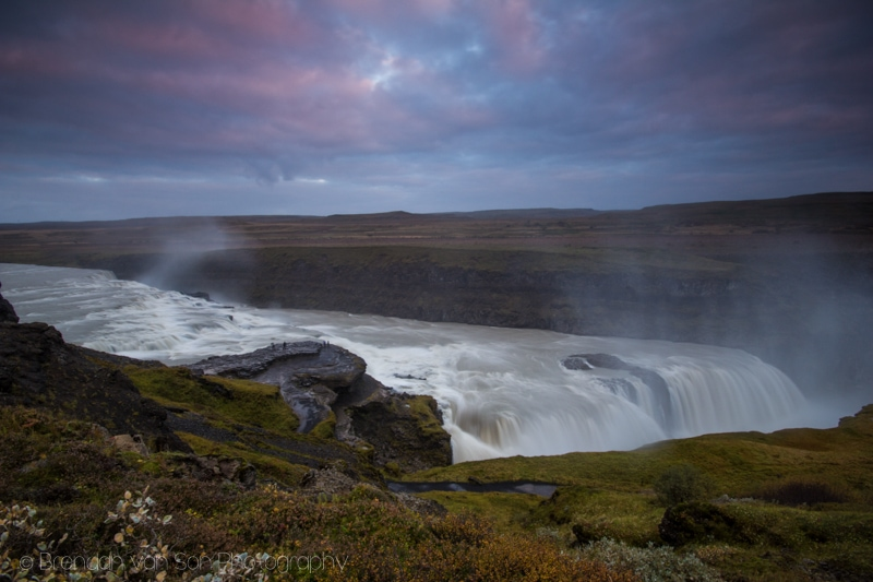 Gulfoss, Iceland, Waterfall