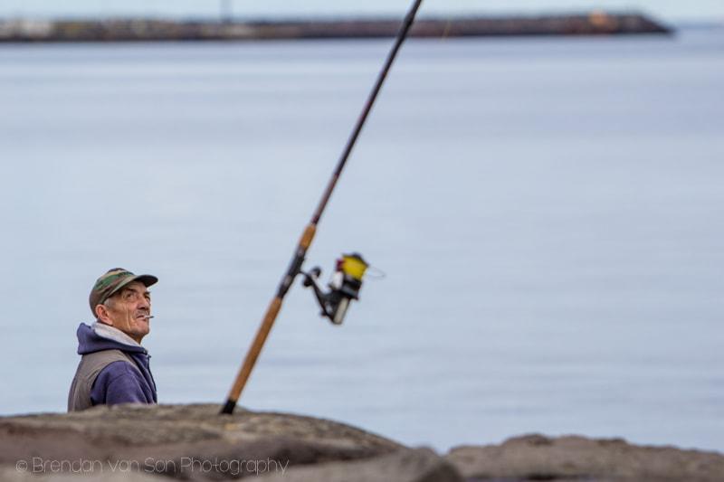 Fisherman in Reykjavik