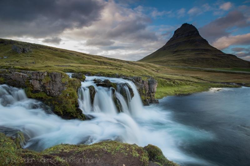 Kirkjufellsfoss, Iceland, Waterfall