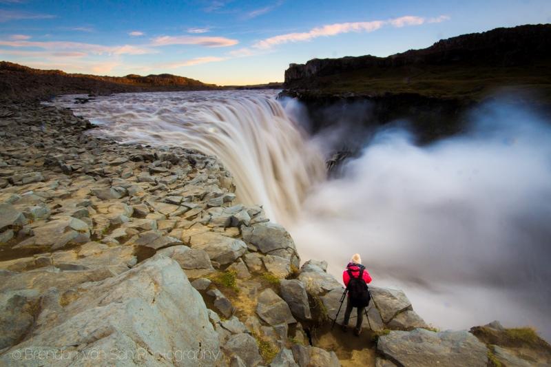 Dettifoss, Waterfall, Iceland