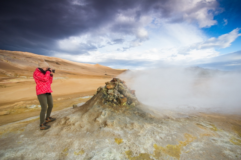 Geothermal site, Iceland