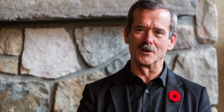 Q&A with Astronaut/Photographer Col. Chris Hadfield in Jasper