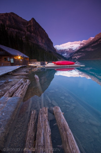 Lake Louise, Sunrise