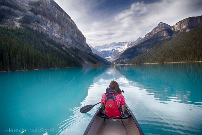 Canoe, Lake Louise