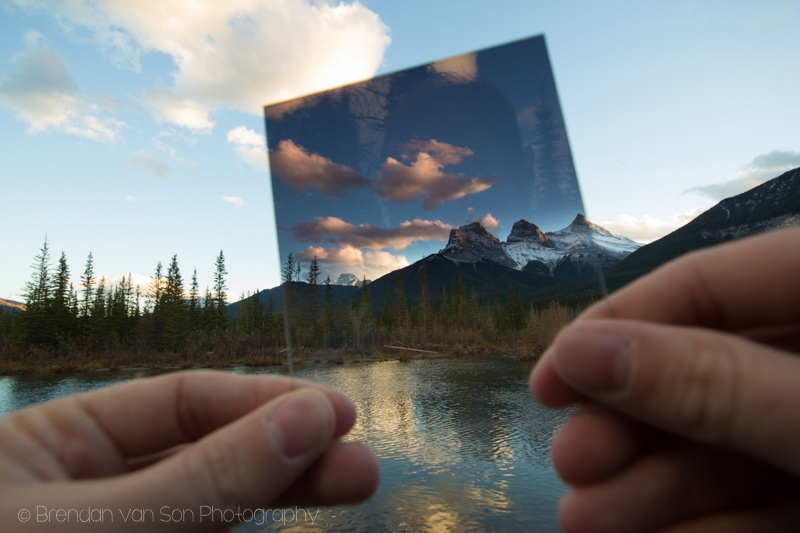 Graduated ND Filter Example