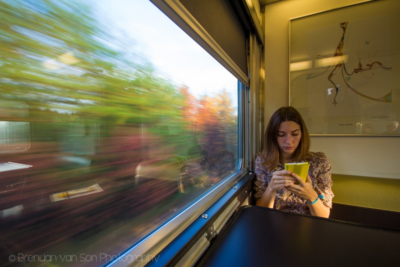 Taking Photos from Trains