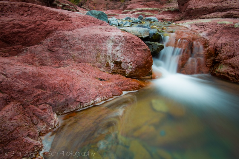 Red Rock Canyon, Waterton Lakes National Park