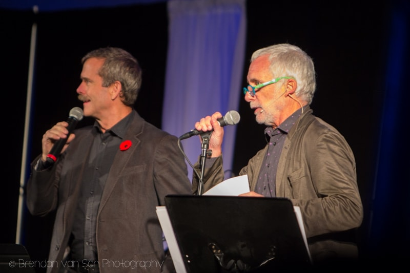 Jay Ingram, Chris Hadfield