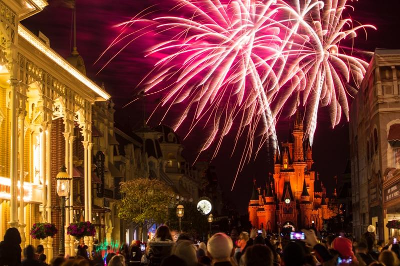 Disney World Fireworks Show