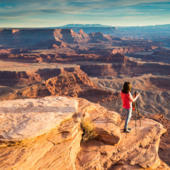 Photos from Dead Horse Point and a Quick Photography Hack