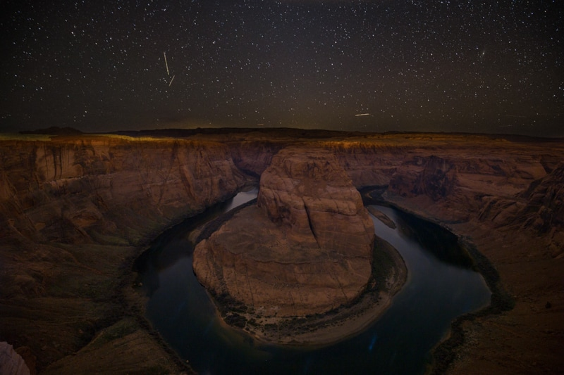 Horseshoe Bend Star Photography