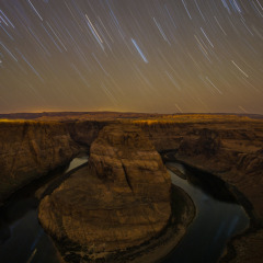 "Creating a Star-Lapse at Horseshoe Bend with ""The Radian"""