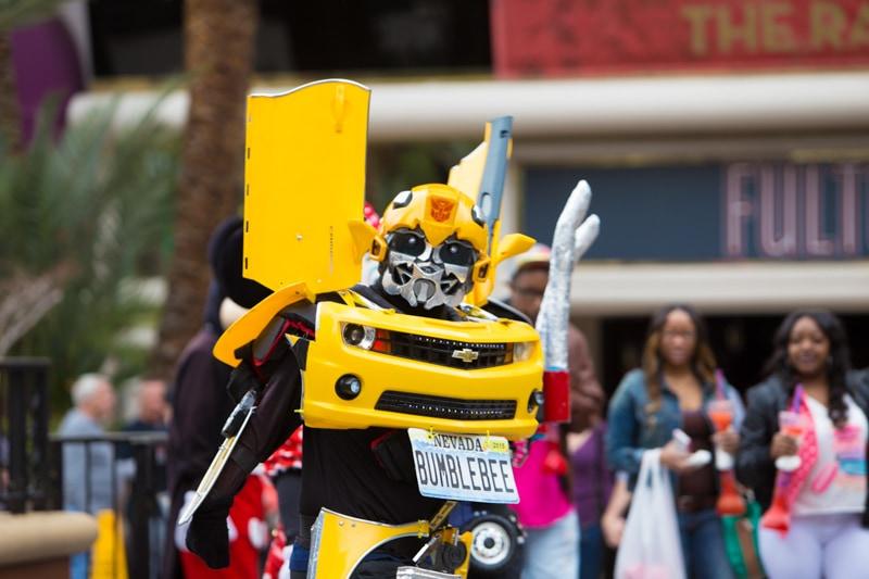 Street Performer, Las Vegas