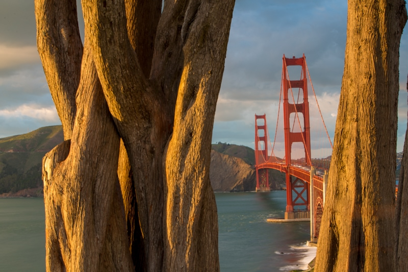 Golden Gate Bridge, Presidio Park