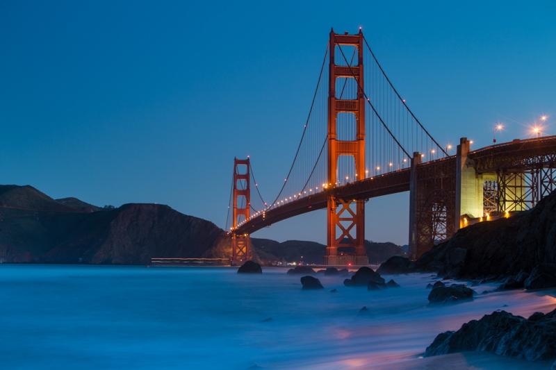 Golden Gate Bridge, Mackenzie Beach