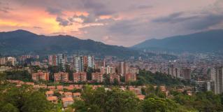 Back in Medellin, Colombia