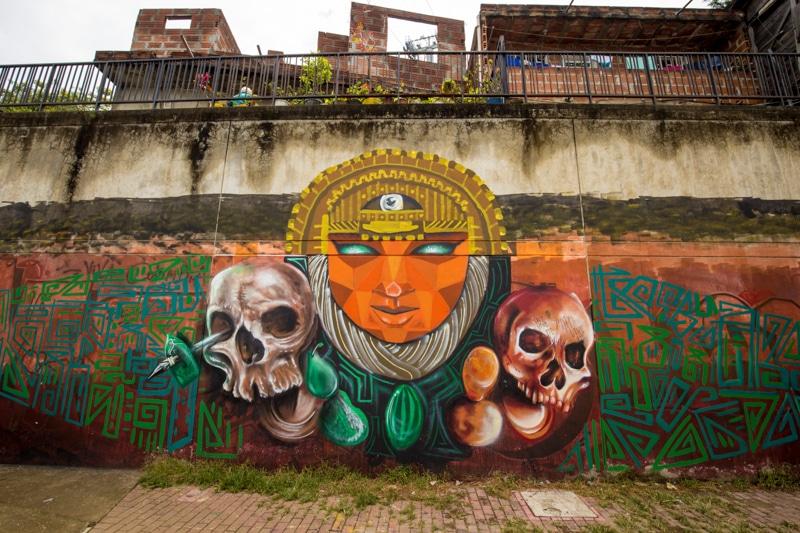 Graffiti, Medellin, Colombia