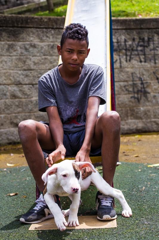Boy, Medellin, Colombia