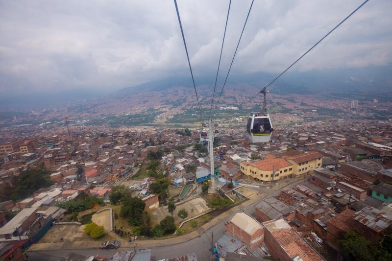 MetroCable, Medellin, Colombia
