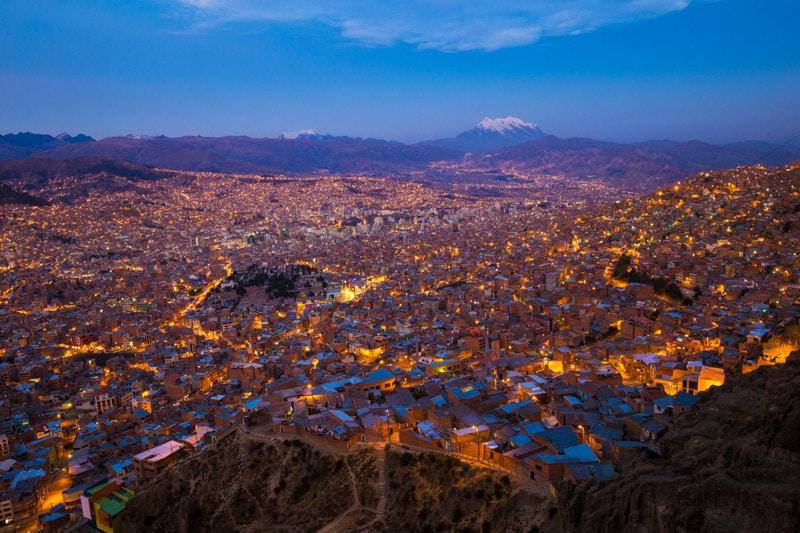 La Paz, Bolivia, Cityscape