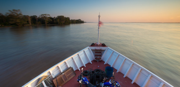 Taking the Boat up the Amazon from Santarem to Manaus